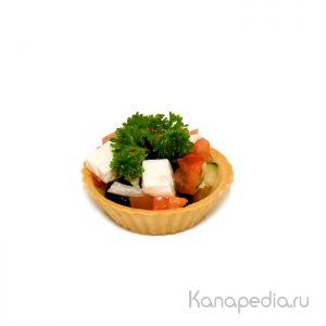 Тарталетка с «Греческим» салатом