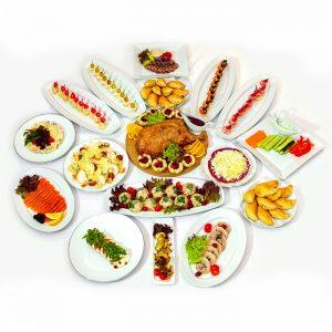 Доставка новогодних блюд на дом в спб